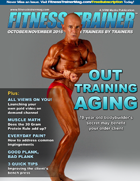 Dr. Robert Drapkin Turns Heads on the Cover of Fitness Trainer Magazine